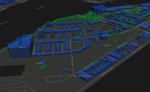 Custom 3D-Tiles layer in mapbox-gl